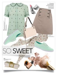 """""""sweet hearts & cupcakes."""" by linds-rae ❤ liked on Polyvore featuring By Terry, Oasis, Calvin Klein Collection, Keds, Burberry and Kate Spade"""