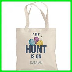 The Easter Hunt Is On Damian: Liberty Bargain Tote Bag - Totes (*Amazon Partner-Link)