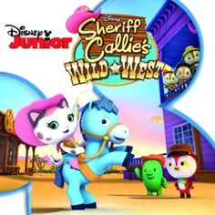 Sheriff Callie's Wild West CD has music from the show. Play Freeze dance or Hot Potato at the party with these songs!