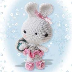 Ballerina Bunny amigurumi crochet pattern by Pepika $5