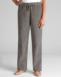 Stretch Cord Easy-fitting Pants, Earl Grey, Small Orvis. $69.00