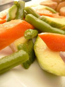 Thermomix Recipes: Steamed Vegetables With Thermomix