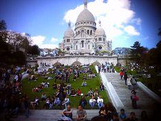 Sacre Couer, Paris!