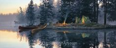 Whispering Pines — Darrell Bush Art