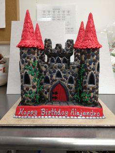 Medieval Castle Cake by The-EvIl-Plankton.deviantart.com on @deviantART