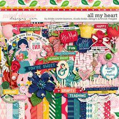 All my Heart by Studio Basic Designs, Kristin Cronin-Barrow & Brook Magee