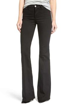 M.i.h. Jeans 'Marrakesh' Flare Jeans (Black)