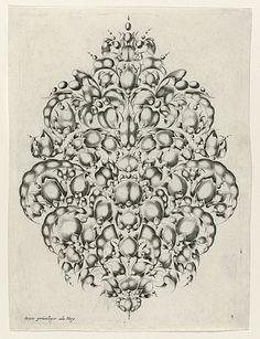 Cosse-de-pois ornament for goldsmiths, 1627. Courtesy of Rijksmuseum http://www.europeana.eu/portal/record/90402/2339C3BA6192B58954C4F839AFC70967A3D65790.html