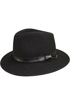 Hombre Sombreros - – Sombrero fieltro Mackinsley 55 8c6fe30f349