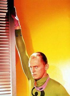 """""""Batman"""" Frank Gorshin as The Riddler 1966 ABC / 20th"""