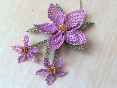 flowers mothers: tatting tutorial - crafts ideas - crafts for kids