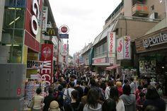 Takeshita street at Harajuku