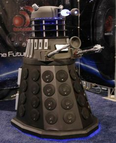"""""""There's a Dalek on the Loose at CES"""" by Pete Pachal on Mashable; Dalek by Massive Audio Doctor Who Birthday, Geek Cave, I Am The Doctor, Tech Humor, Twelfth Doctor, Dalek, Cool Technology, Dr Who, Superwholock"""