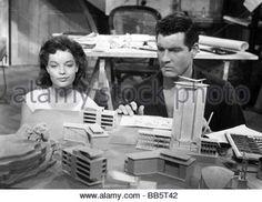 movie, 'Scampolo', DEU 1958, director: Alfred Weidenmann, scene with: Romy Schneider, Paul Hubschmid, romance, half - Stock Photo