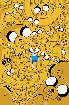 Adventure Time with Jake the Dog and Finn the Human Fin And Jake, Jake The Dogs, Finn The Human, Cartoon Wallpaper, Iphone Wallpaper, Abenteuerzeit Mit Finn Und Jake, Adventure Time Comics, Jake Adventure Time, Pendleton Ward