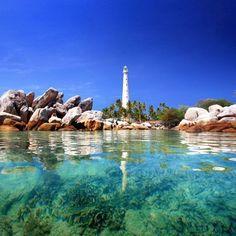 pulau lengkuas by bacpacker indonesia
