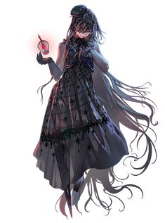 lordofdice, Lord of Dice / [お仕事]ロードオブダイス② / August 2019 - pixiv Game Character Design, Character Concept, Character Art, Anime Girl Dress, Anime Art Girl, Manga Characters, Fantasy Characters, Pretty Art, Cute Art