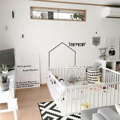 女性で、3LDKの部屋全体/定点観測/赤ちゃんのいる暮らし/赤ちゃんスペースについてのインテリア実例を紹介。「2016.07/12」(この写真は 2016-07-12 23:23:22 に共有されました)