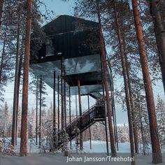 Das **Treehotel** in Luleå hat ansehnlichen Zuwachs bekommen: Ein spektakulärer Entwurf des Architekturbüros **Snøhetta** ergänzt ab sofort die Kollektion…