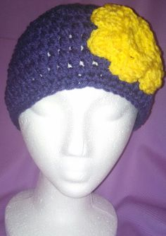 Minnesota Vikings Purple and Yellow by head2toeblingsusan on Etsy