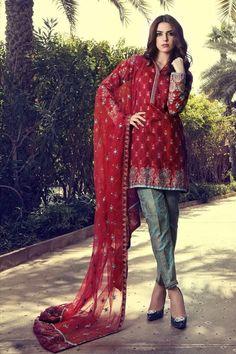 f792d7bf2a Lawn dress by Maria B Model # L 223 Pakistani Lawn Suits, Pakistani Bridal  Wear