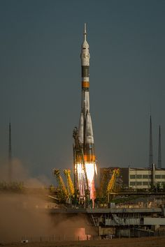 Expedition 33 Soyuz Launch (201210230051HQ) by nasa hq photo, via Flickr