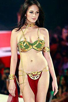 Sexy Princess Leia (Princess of Alderaan) - Slave Girl (Ellen Adarna) Star Wars Mädchen, Star Wars Girls, Steve Urkel, Boxing Videos, Filipina Actress, Filipina Beauty, Star Wars Personajes, The Bikini, Princess Leia