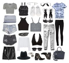 """""""nyc in july"""" by florencia95 ❤ liked on Polyvore"""