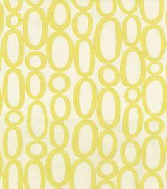 HGTV Home Upholstery Fabric Looped Sunshine