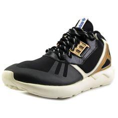 Adidas Tubular Runner Men US 12 Black Running Shoe