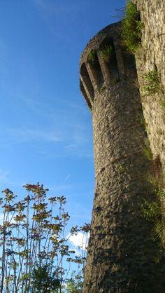 Tower of campanella, Castiglione di Garfagnana, Lucca, Tuscany