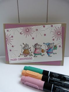 StampinClubNederland - Stampin Up! products and workshops: Merry Mice Stampin 'Up! - Merry Christmouse!