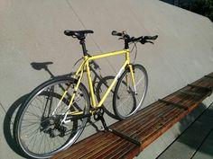 All City Macho Man cross bike so up as a commuting beast...