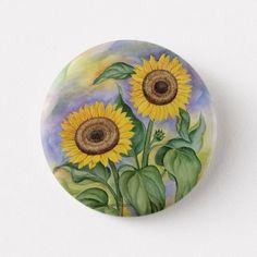 Sunflower Images, Sunflower Design, Rock Flowers, Flowers Garden, Popsocket Design, Design Ideas, Dot Painting, Painting On Wood, Paver Patterns