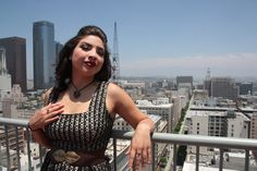 Downtown Los Angeles Rooftop Photoshoot.  Johnny Gramercy as photographer  Model Eileen Felix - My day as a Pin Up in Downtown LA #lovetobefem #johnnygramercy #pinup #sexytime #makeupartist #gettingready #pinup #efelixstudios #eileenfelix #downtownshoot #downtown #makeup #art #photos #JohnnyGramercy #rooftop #downtownLAroof #skyline #heels