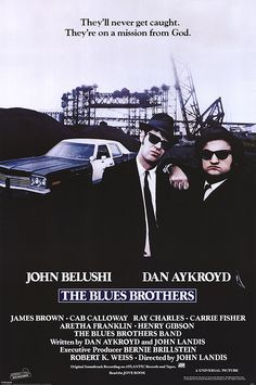 John Landis. The Blues Brothers. Maybe not a great movie, but a cult movie, and to me, the no 1 feel good movie.