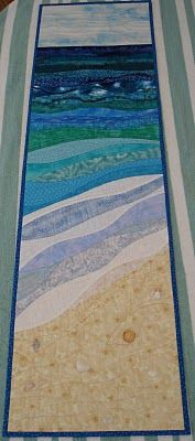 pattern is By the Sea by Karen Eckmeier from Mumsyblossom's World - must look at the closeups, this is beautiful!