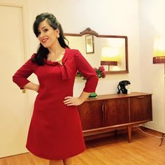 Sew Over It Joan Dress with an A-line skirt Sew Over It Patterns, Dress Patterns, Sewing Patterns, Sewing Ideas, Sewing Projects, Dress Sewing, Work Outfits, Dressmaking, A Line Skirts