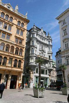 Wien Stadt Graben Palais En Vertical - Vienna - Austria