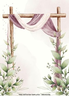 Nice 11+ Blush Watercolor Floral Arch Wedding Invitation Templates I'd say, it's almost impossible to beat Garden Rose for its outstanding visual that fits almost everything. These delicate, papery flowers bloom, gorgeous leaves and striking color will bl...
