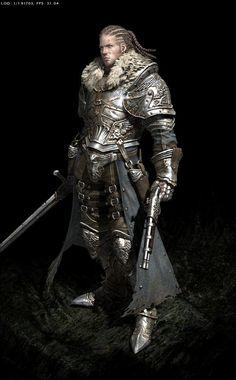 Воин феодального мира