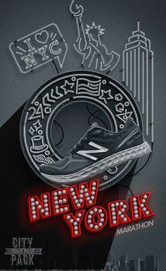 New Balance Poster - City Marathon New York