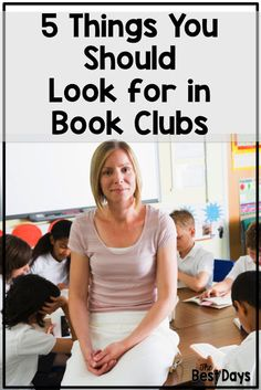 Are you wondering what you should know about Book Clubs while you are teaching? Looking carefully at your class can help you discover just what you should be watching for! Improve Reading Comprehension, Comprehension Strategies, Reading Strategies, Reading Tips, Guided Reading, Book Clubs, Book Club Books, Teacher Blogs, Teacher Hacks