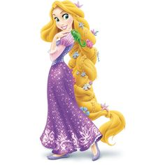 Rapunzel ❤ liked on Polyvore featuring disney, tangled, characters, rapunzel, art and fillers