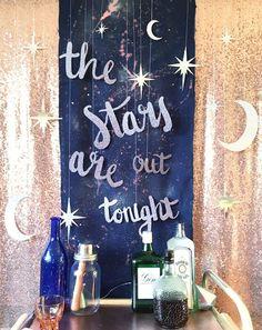 Celestial Wedding Inspiration Celestial backdrop, stars decorations, starry night, night sky Source by ramirez_dafne. Dance Themes, Prom Themes, Wedding Themes, Galaxy Wedding, Star Wedding, Diy Wedding, Wedding Ideas, Trendy Wedding, Drinks Wedding