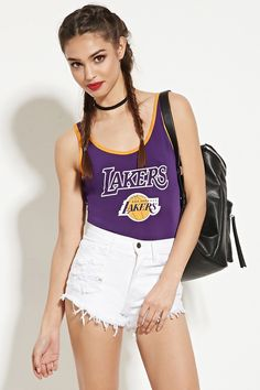 Forever 21 LA Lakers Bodysuit