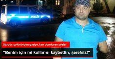 Devriye Haber : Ankara'da Melih Gökçek'in Otobüs Şoförleri Kabadayı Gaziye: Benim İçin mi Kollarını Kaybettin Şerefsiz Diyebiliyor