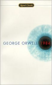 1984 by George Orwell: Book Cover