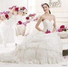 http://weddinginspirasi.com/2011/09/23/colet-wedding-dresses-2012/  colet 2012 wedding dresses  #weddings #weddingdress #bridal #ballgown #wedding #weddingfashion