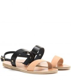 "Pin for Later: 15 flache Sandalen, die cooler sind als jeder Flip Flop  Ancient Greek Sandals Ledersandalen ""Clio"" (120 €)"
